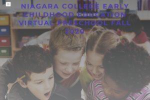 Niagara College Early Childhood Education program launches Virtual Preschool
