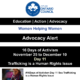 Sex Trafficking is a Human Rights Issue – #16Days of Activism Day 11