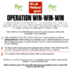 OPERATION Win Win Win! in Support of The Hope Centre AND Local Restaurants