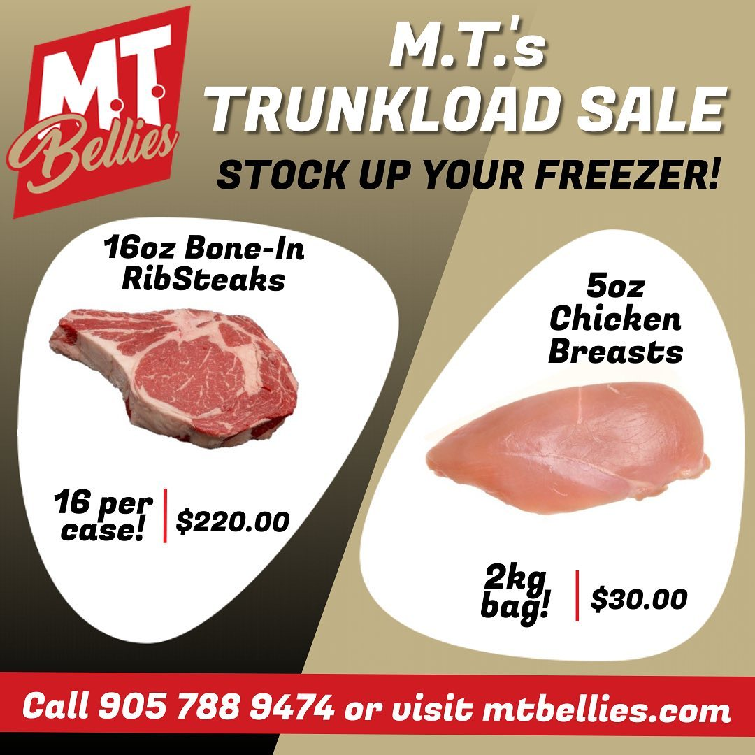 M. T's Truckload Sale!