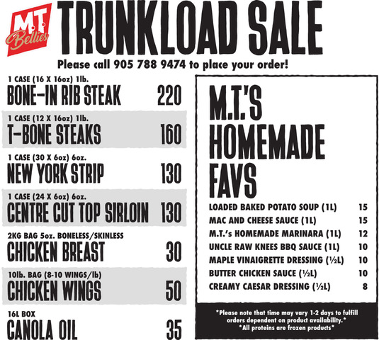 Trunkload Sale