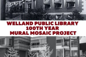 You're Invited to Participate in the Welland Public Library Mural Mosaic Project