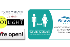 North Welland BIA Business Spotlight: Seaway Mall Open with COVID-19 Customer Screening at Entry