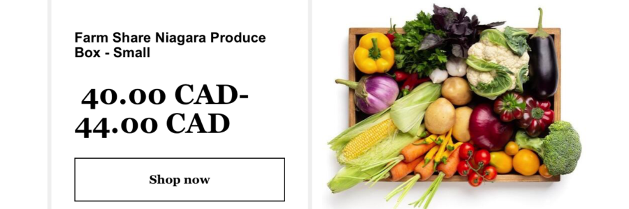 Subscribe to Small Scale Farms PRODUCE BOX Today!