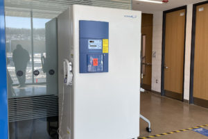 Niagara College supports vaccination efforts with ultra-low freezer donation