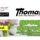 Spring Savings Event on Now at Thomas TV!
