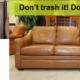 Don't trash it! Donate it.