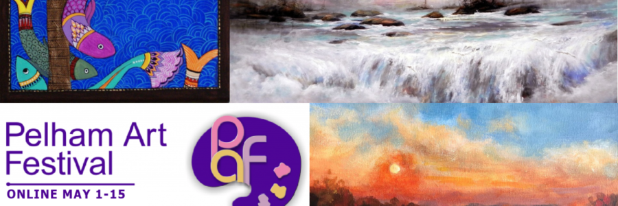 Coming Soon! Pelham Art Festival ONLINE Show & Sale May 1-15, 2021