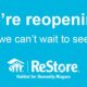 Habitat for Humanity ReStores to Re-Open
