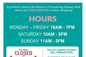 Seaway Mall Now Open!