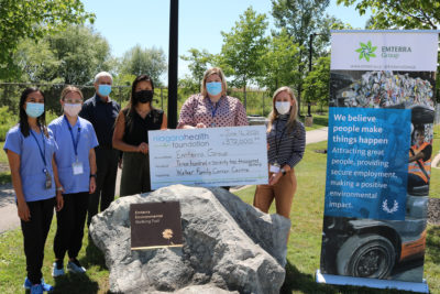 Emterra & Hospital Foundation Celebrate 8 Years of Donations Totaling $372,000