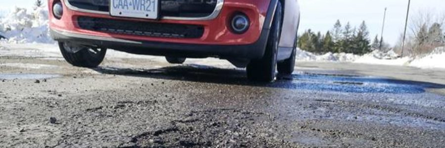 Whirlpool Road Lands Top Spot in Worst Roads Campaign
