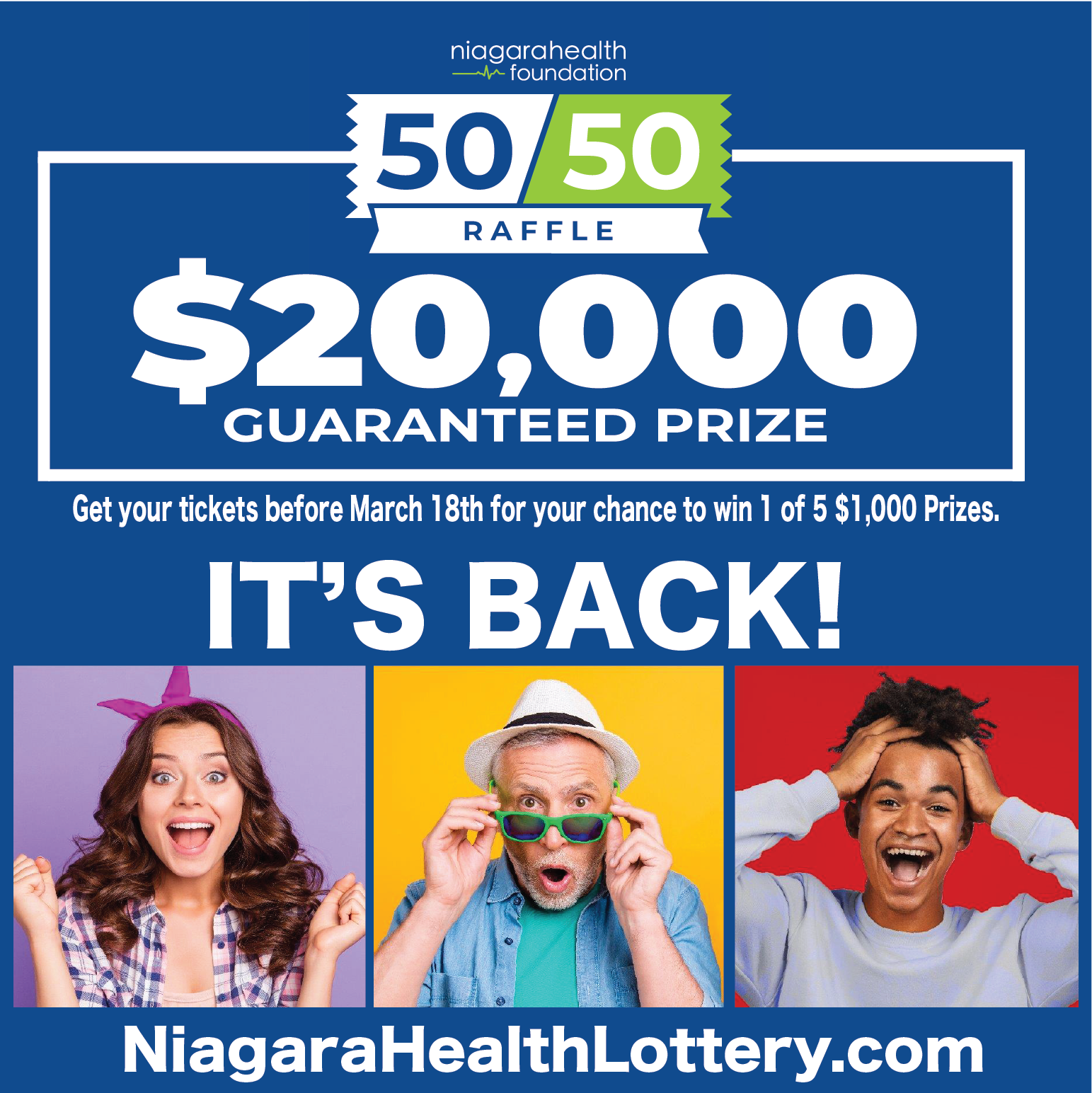 Niagara Health Foundation Looks to Give Away Big Cash in its Third Community Lottery