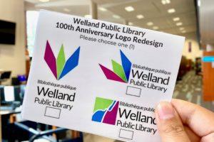 Vote for New Welland Public Library Logo Design