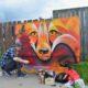 Bell Box Murals: The Fox On Woodlawn