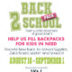 Help us fill Backpacks for kids in need!