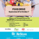 Donate food and save at the ReStore!
