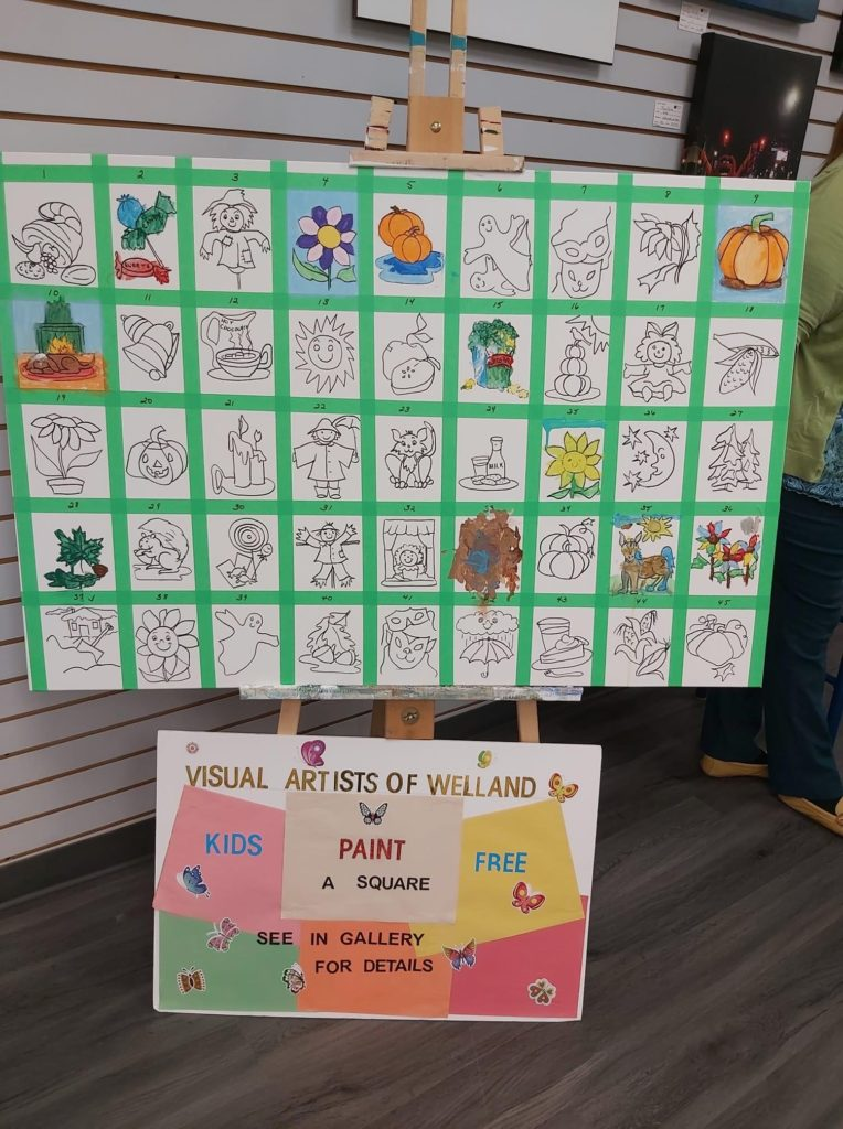 Bring Your Little Artists to 'Paint a Square' at the Seaway Mall