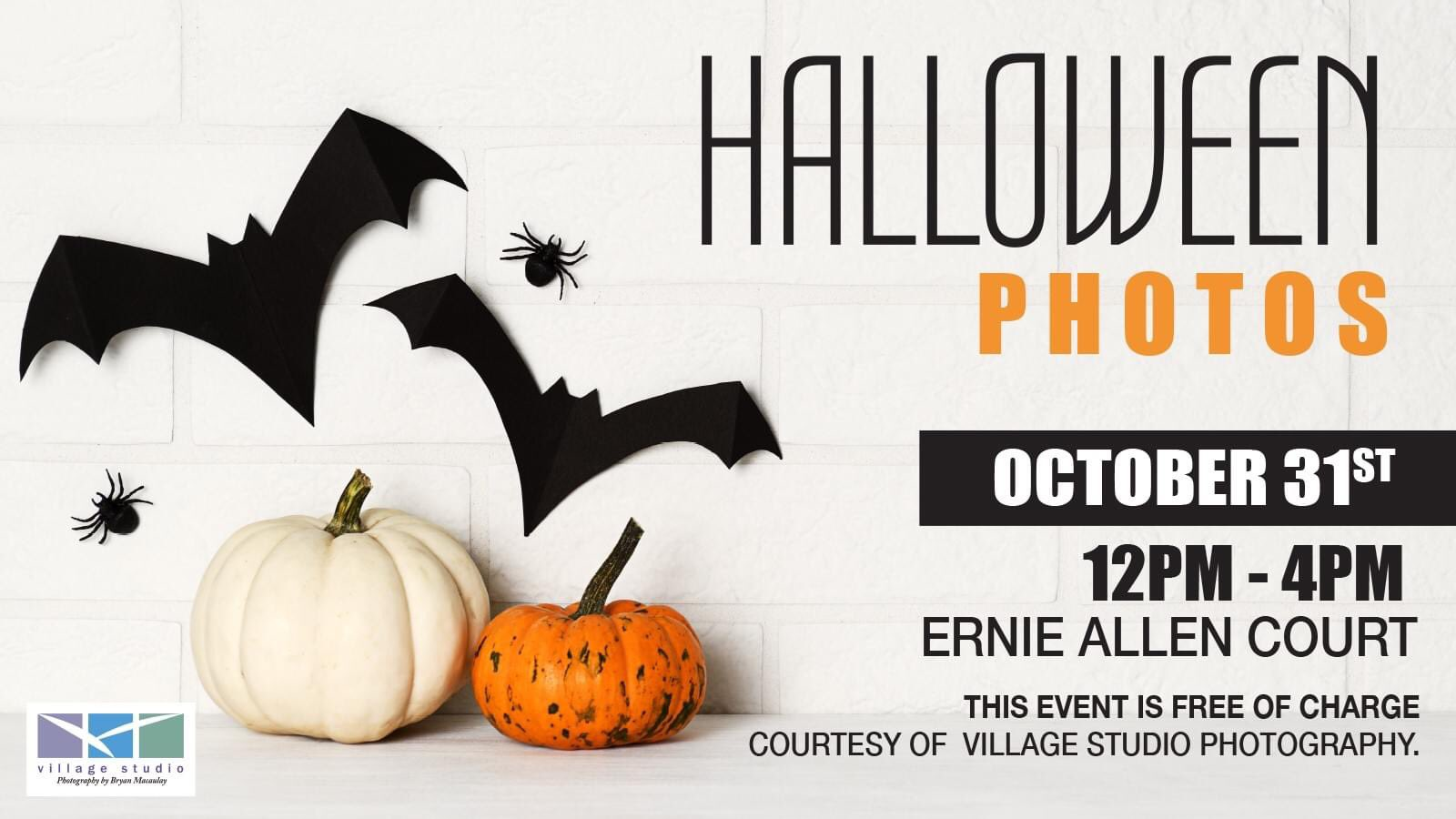 Come to Seaway Mall for FREE Halloween Photo!