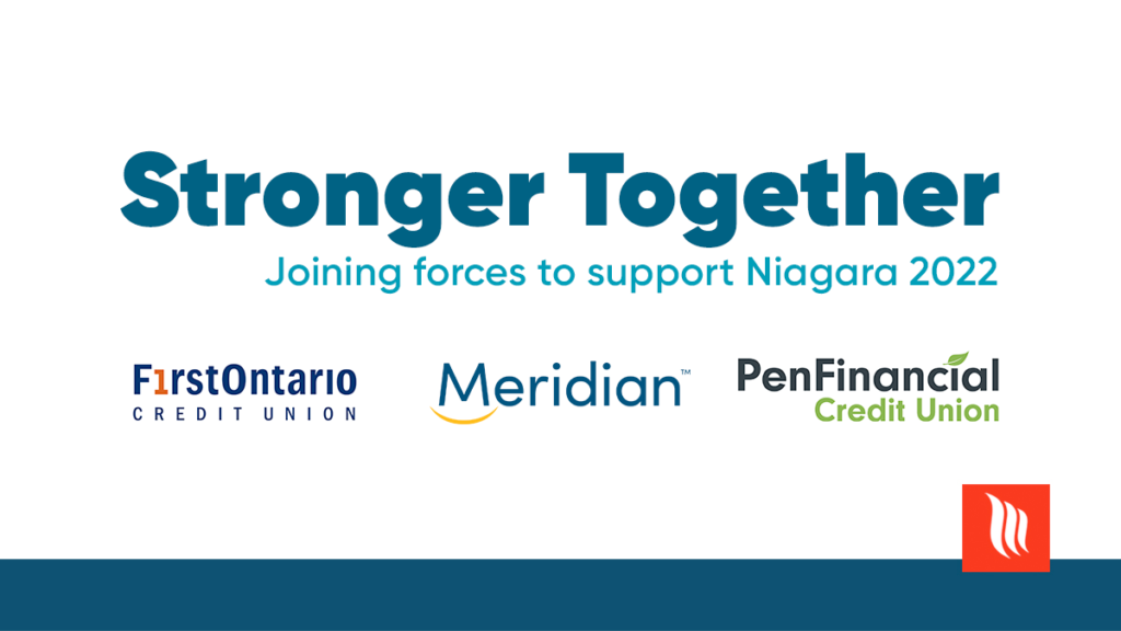 Three Niagara Credit Unions Come Together To Support The Niagara 2022 Canada Summer Games