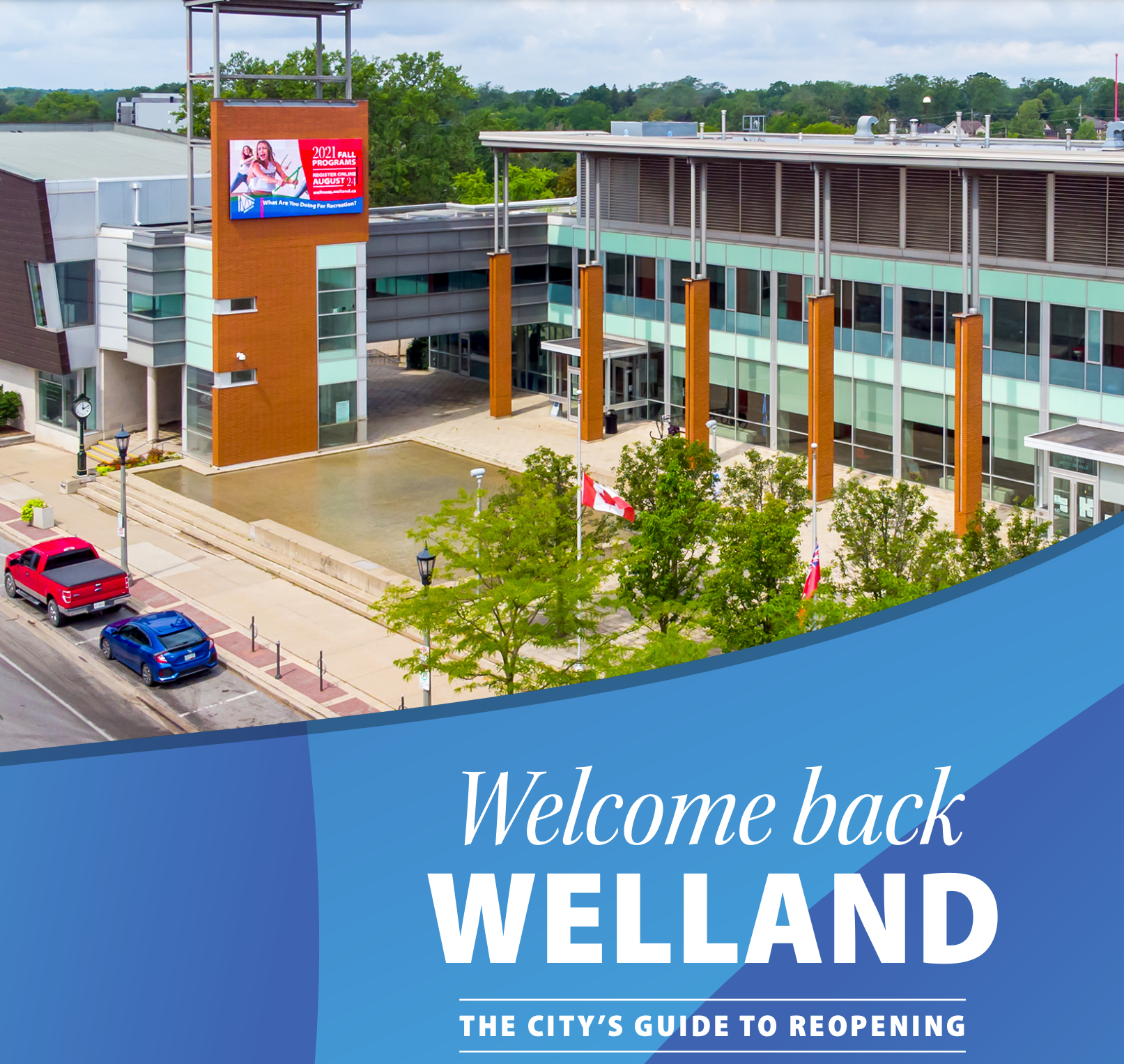 City wins Gold MarCom Award for strategic communications with Welcome Back Welland reopening plan
