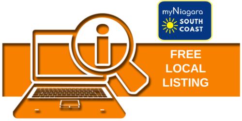 Get Your Free myNiagara South Coast Directory Listing
