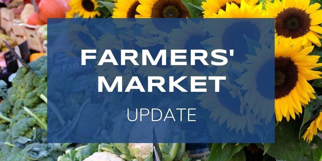 Port Colborne Farmers' Market Ending 2020 season Early – Friday Oct. 30th