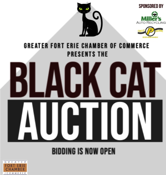Black Cat Auction – Bidding Now Open! #myNiagaraSouthCoast