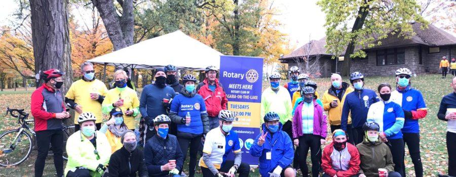 International Pedal for Polio Event, A Grand Success!