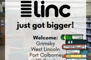 Libraries in the Niagara Cooperative (LiNC) Collection has Grown!