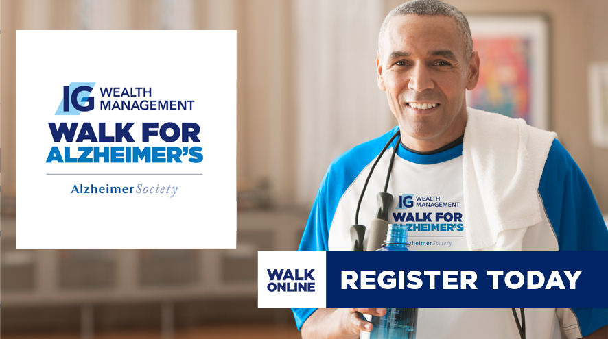 IG Wealth Management Walk for Alzheimer's will unite people of Niagara online this year