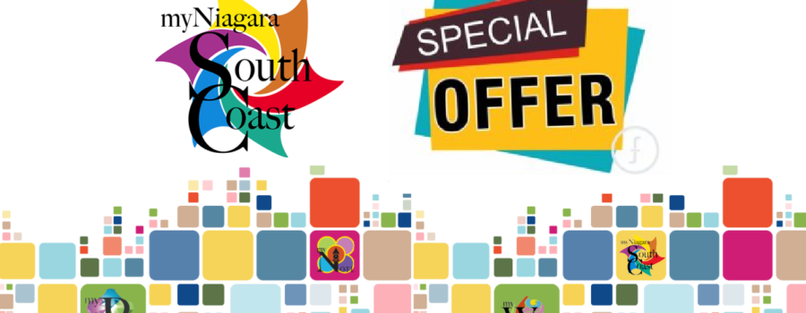START UP SPECIAL: Become a #myNiagaraSouthCoast Community Partner
