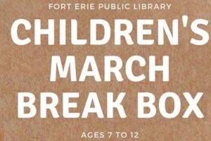 March Break Kits – Children Ages 7- 12