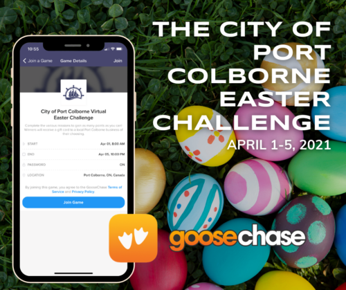 City of Port Colborne Virtual Easter Challenge
