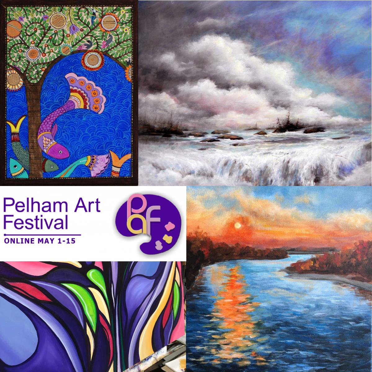Coming Soon! Pelham Art Festival ONLINE Show & Sale May 1-15, 2021