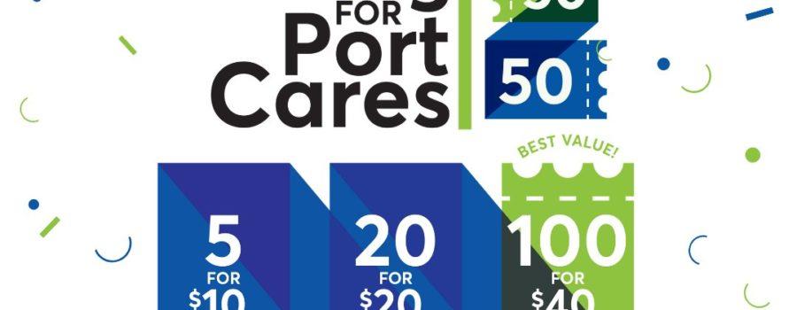 Port Cares 50/50 Draw