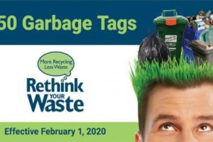 Niagara Region Increases Price of Garbage Tags