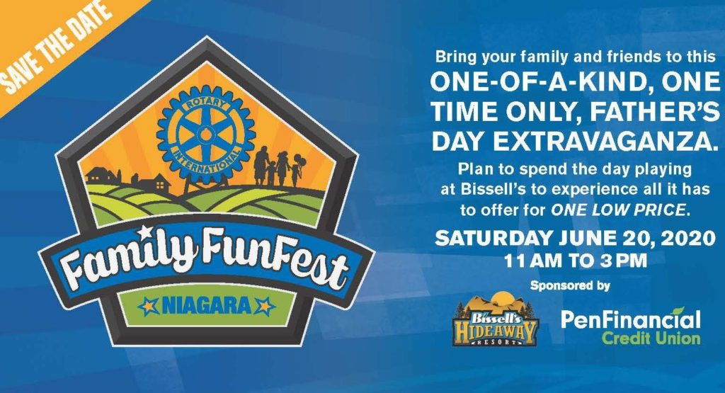 Niagara Family FunFest 2020 Tickets Now Available!