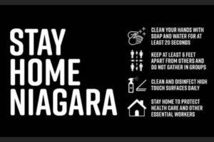 Niagara Region #StayHomeNiagara Community Safety Message Campaign