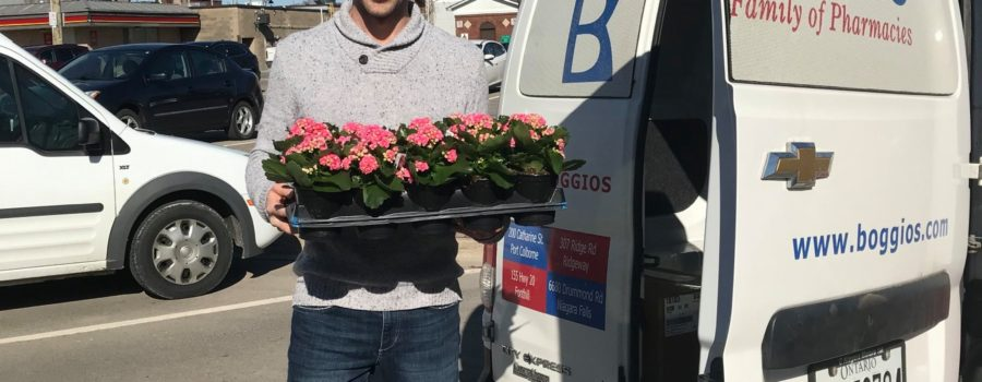 Free Flowers with Your Pharmacy Delivery