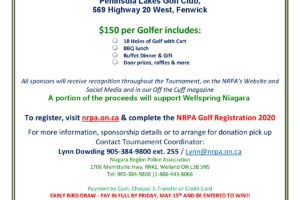 Attention Golfers – Chip It For Wellspring Niagara!