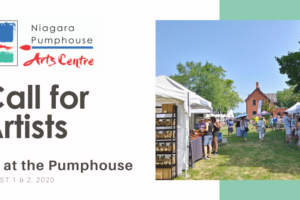 Artist Call: Art at the Pumphouse