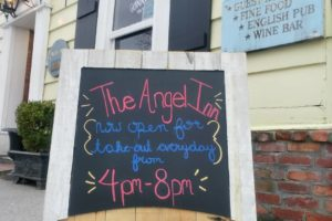 Olde Angel Inn Now Offering Takeout