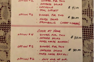 New Takeout Menu available at Matteos Ristorante in Downtown Welland