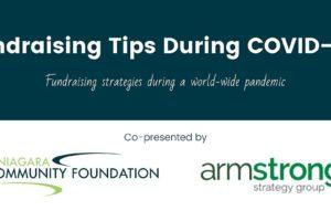 Upcoming Webinar: Fundraising Tips During COVID-19