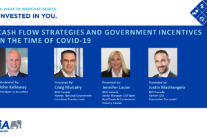 Webcast: Cash Flow Strategies and Government Incentives in the Time of COVID-19