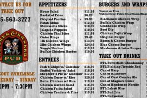 The Butcher and Banker PubServing Takeout Again starting May 7th
