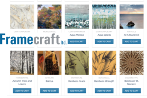 Create Your Custom Framed Art Piece Online with Framecraft