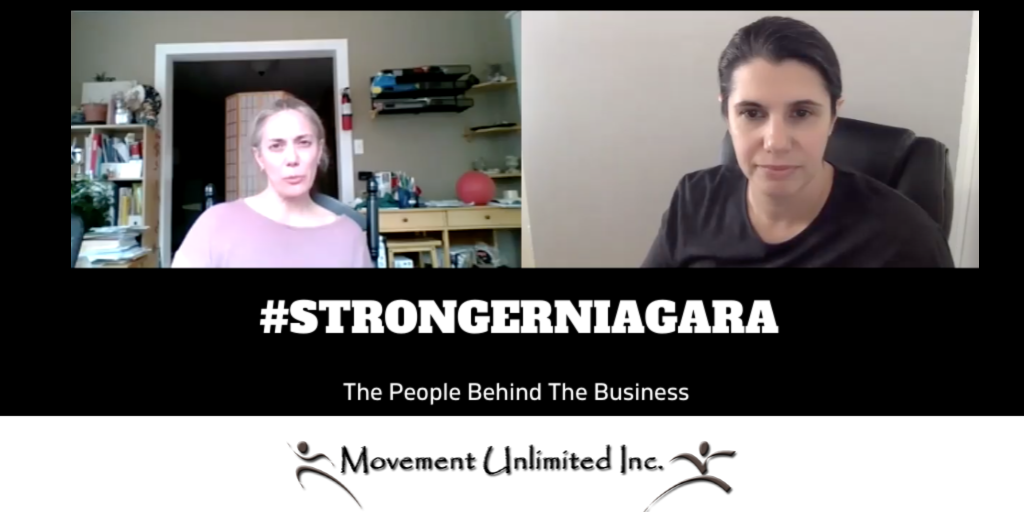 #STRONGERNIAGARA Episode 2: Meet Allison Kares, Owner of Movement Unlimited