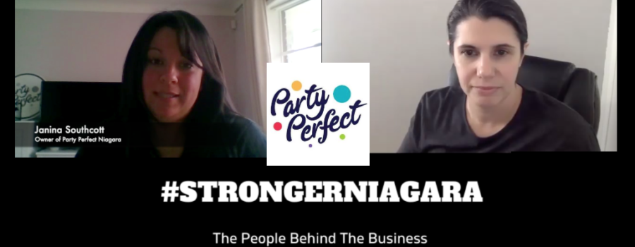 #STRONGERNIAGARA Episode 3: Meet Janina Southcott, owner of Party Perfect Niagara